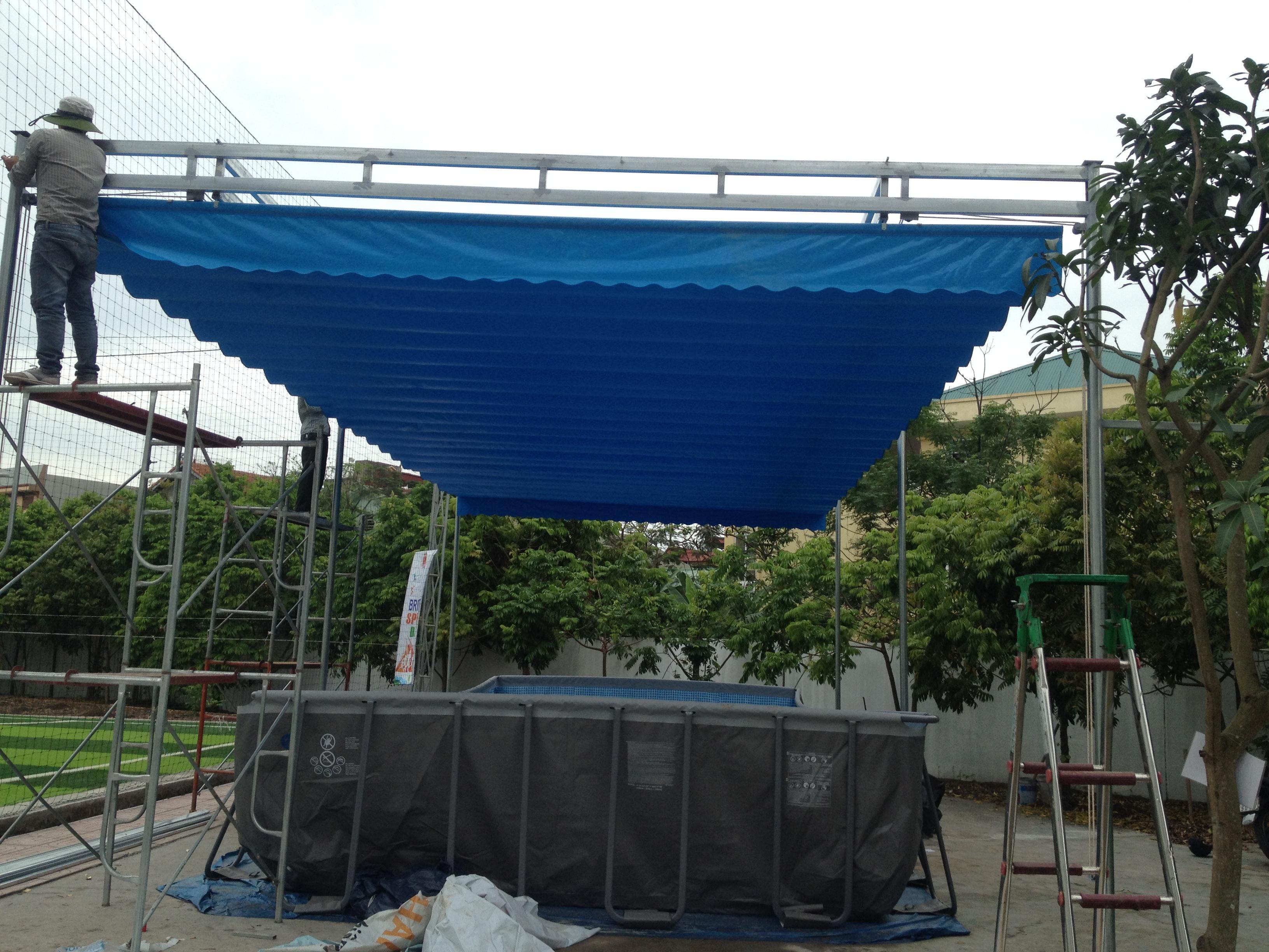 làm mái xếp di động tại Quảng Ninh