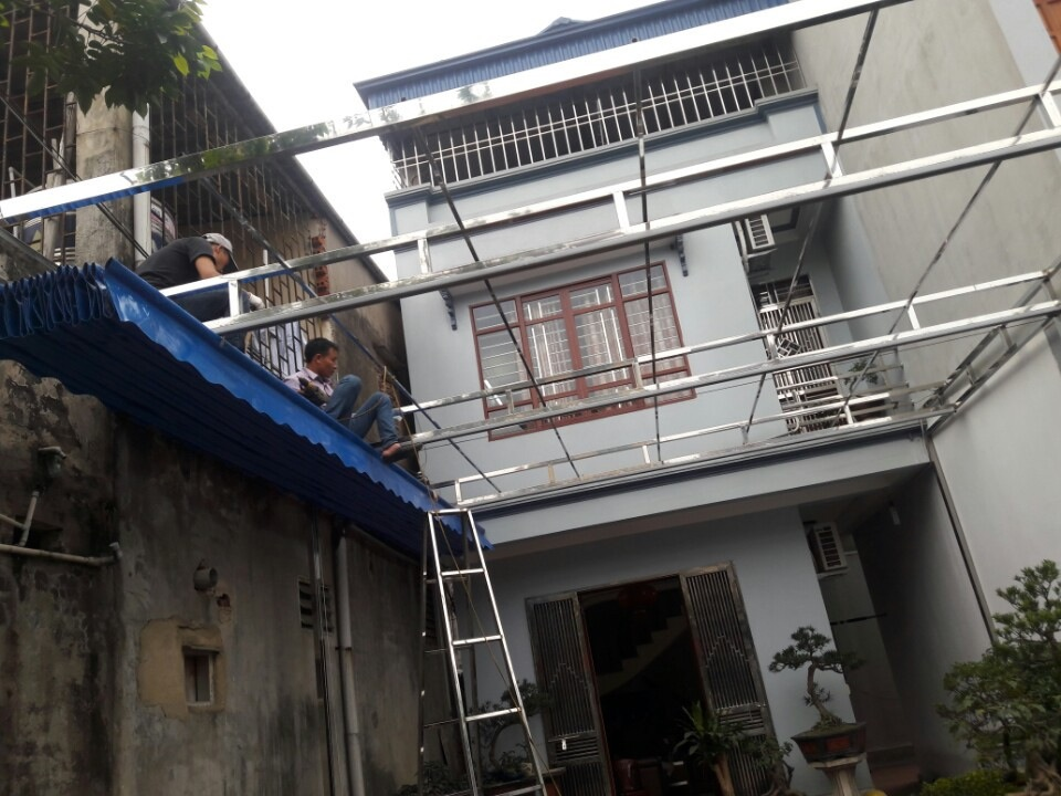 thi công mái bạt xếp di động tại hải phòng