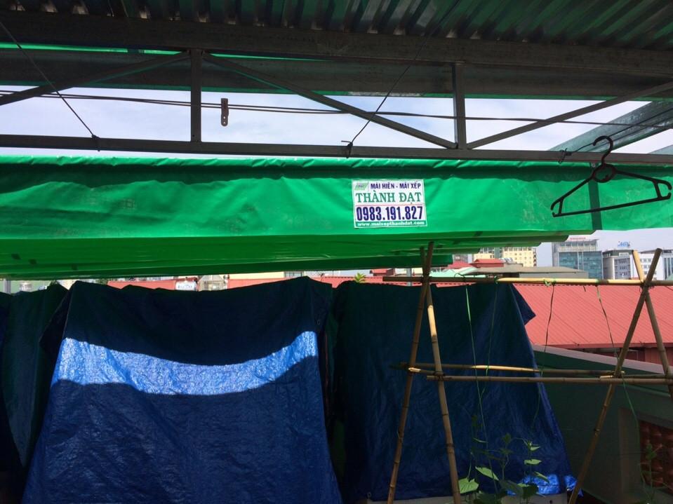 mái xếp di động tại Hà Nội
